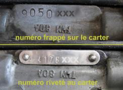 numero moteur solex 3800